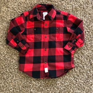 Carter's Toddler Boy Button Down Shirt